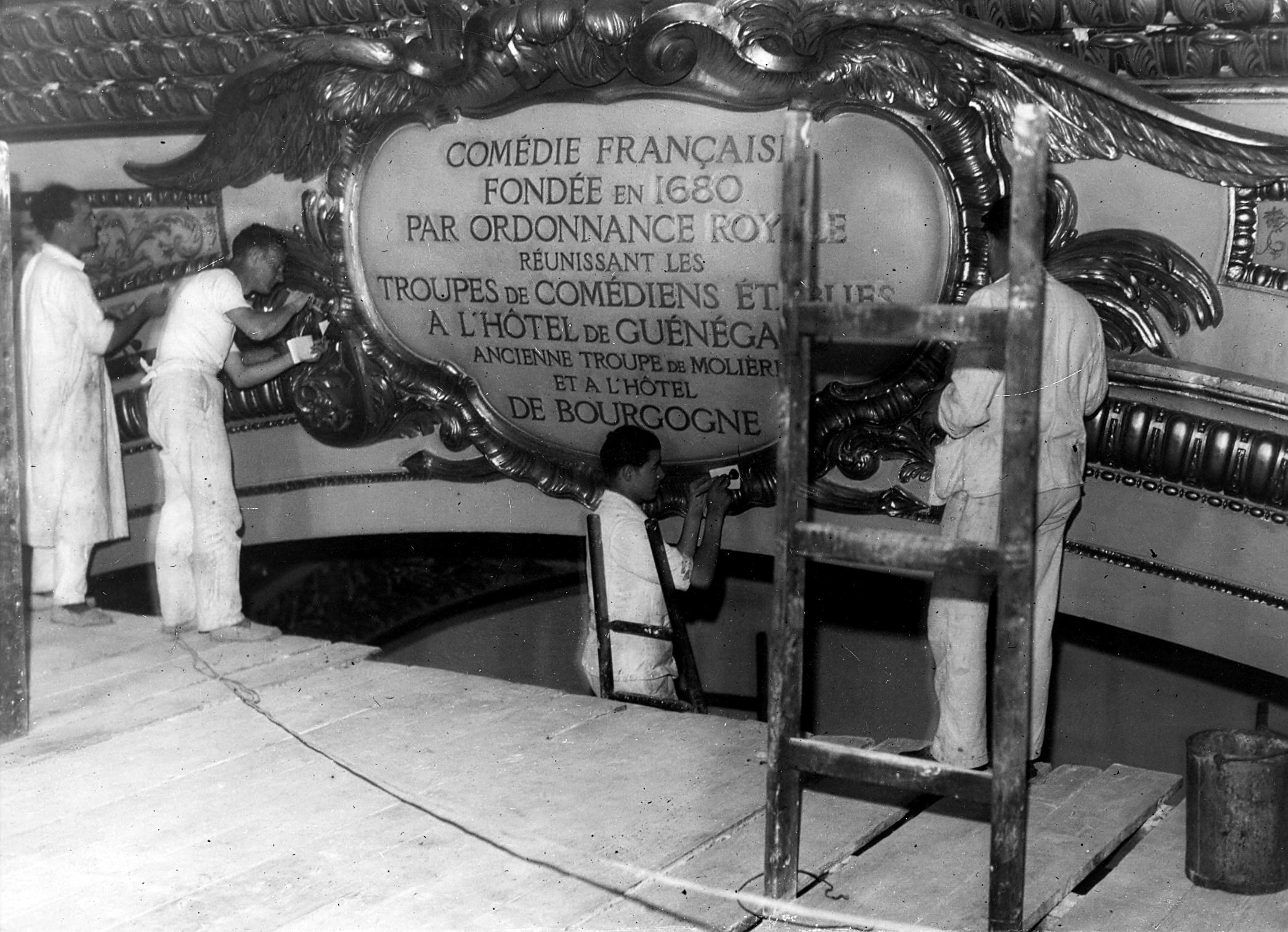 1935-salle-richelieu-pose-du-cartouche-1935-photo.-fulgur