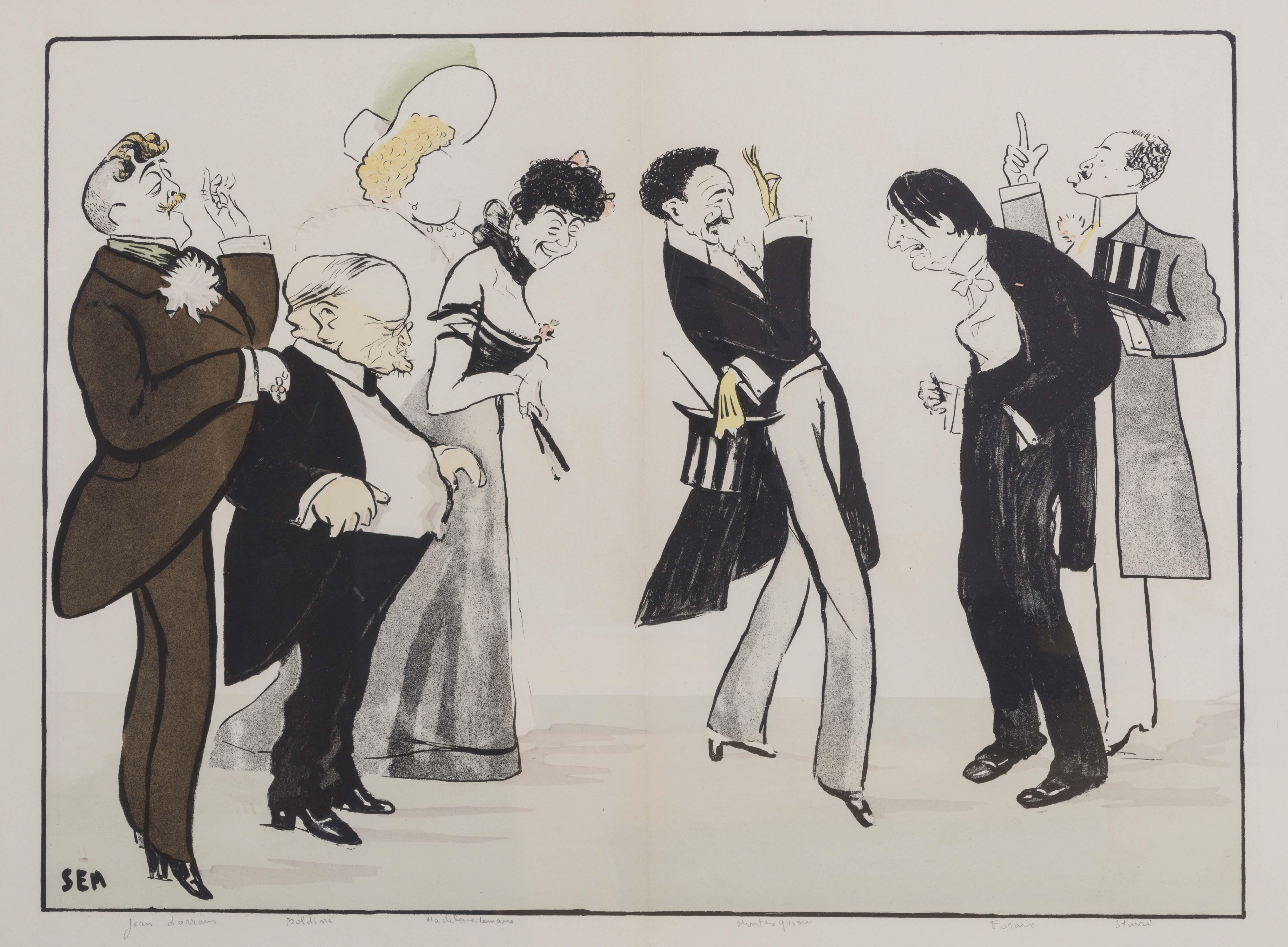 05-lorrain-boldoni-kate-moore-mad.-lemaire-comte-de-montesquiou-forain-caricature-de-sem-1903-