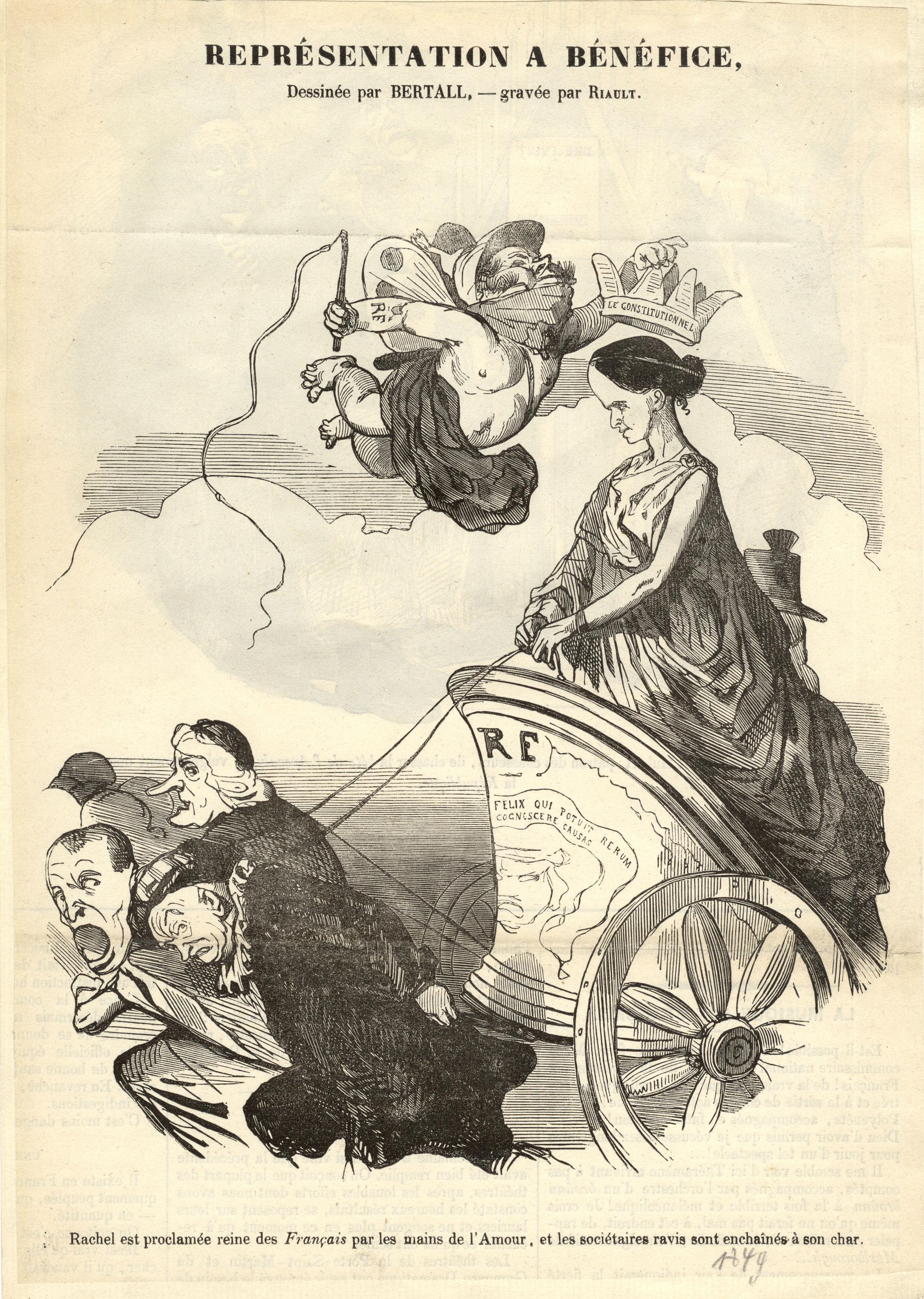 05-rachel-reprc-sentation-o-bc-nc-fice-caricature-de-bertall-gravc-e-par-riault-1849-