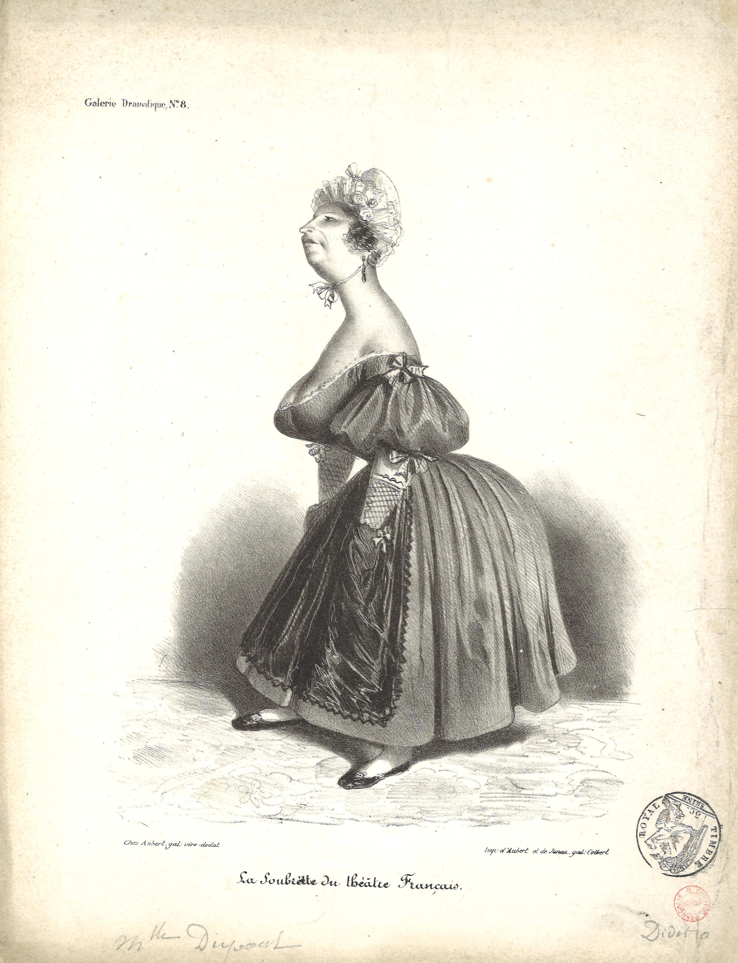 12-mlle-dupont-caricature-la-soubrette-du-thc-e-tre-frana-ais-le-charivari